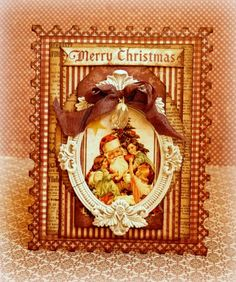 Card: Merry Christmas *Maja Design*