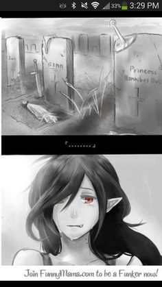 Adventure Time- The face of true immortality.. this is the saddest thing I've seen in a while.