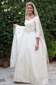 Wedding dresses ball gown mermaid and unique wedding dresses rustic Pinina Tornai Wedding Dresses, Modest Wedding Gowns, Elegant Wedding Dress, Dream Wedding Dresses, Bridal Dresses, Bridesmaid Dresses, Ball Dresses, Ball Gowns, Fairytale Gown