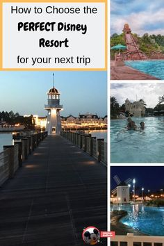 Sep 16, 2019 - Information on how to choose the perfect Disney Resort for your trip including the pros and cons of Value, Moderate and Deluxe resorts.