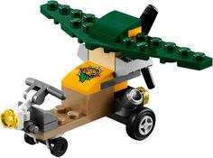 LEGO MONTHLY MINI BUILDS POLYBAGS LAMB CATERPILLAR GLIDER FROG