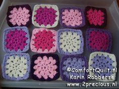 Most up-to-date Absolutely Free granny square patroon nederlands Concepts Tutorial – Comfort Quilt – Granny Square haken nederlands patroon Knit Or Crochet, Crochet Granny, Crochet Crafts, Double Crochet, Free Crochet, Chrochet, Joining Granny Squares, Granny Square Blanket, Square Quilt