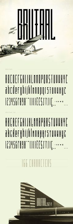 Brutaal - Free Font