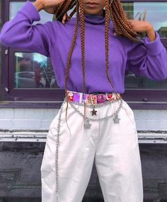 Outfits ideas & inspiration : That chain belt! Holyyy That chain belt! K Fashion, Fashion Outfits, Womens Fashion, Fashion Clothes, Funky Fashion, Cheap Fashion, Fashion Boots, Fashion Online, Grunge Style