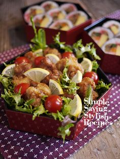 Japanese Bento Box, Japanese Food, A Food, Food And Drink, Food Menu Design, Thai Street Food, Sashimi, Lunch Recipes, Brunch