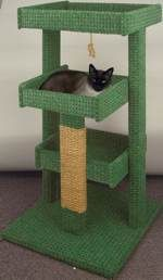 Learn Woodworking Cat Tree Woodworking Plan - Might have to get Malachi to help me make this! Cairo needs a little house too! Cat Tree Plans, Cat Climber, Cat House Diy, Diy Cat Tree, Cat Towers, Cat Stands, Cat Playground, Photo Chat, Cat Scratching Post