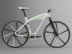 eCycle concept design by Milos Jovanovic. eCycle concept design by Milos Jovanovic Hybrid Electric Bike, Electric Bicycle, Velo Design, Bicycle Design, Bmx, Toyota Hybrid, Mobiles, E Mobility, Audi