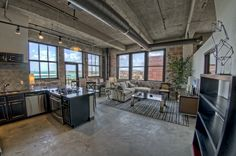 lofts | ... something about the brick and concrete floors!