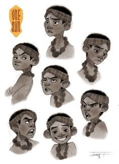 Teny issakhanian : photo character design in 2019 charact Character Design Cartoon, Character Sketches, Kid Character, Character Design Animation, Character Design References, Character Drawing, Character Illustration, Character Concept, Concept Art