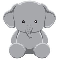 Imágenes Prediseñadas Baby Safari animales Zoo por VipARTVector