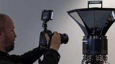 Omnicam: Fraunhofer-HHI überträgt Panoramabilder über Satellit -Die Bilder der Omnicam werden über den Satelliten Astra 19,2 Ost übertragen und dann per Sat over IP (Sat>IP) auf verschiedene Ausgabegeräte transferiert. Besucher des HHI-Standes (Halle 8, Stand 8.B80) können sich die Panoramen auf einem UHD-Bildschirm betrachten oder sich Head Mounted Displays (HMD) aufsetzen und in die Szenerie eintauchen.