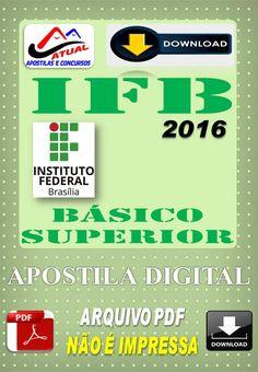 Concurso IFB DF Cargos de NIvel Superior 2016