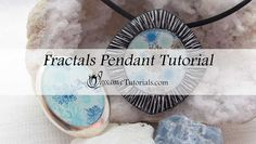 In this Polymer Clay Fractals Pendant tutorial, I'll be showing you how to make your own bezel out of polymer clay, and how to create paint and ink fractals in the center.