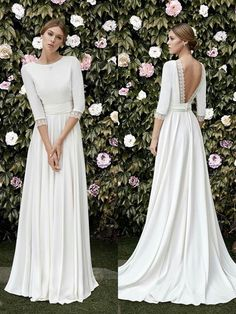 Beautiful wedding dresses and gowns for the timeless bride, by Brides Boutique Buckingham. Beautiful wedding dresses and gowns for the timeless bride, by Brides Boutique Buckingham. Wedding Robe, Elegant Wedding Dress, Dream Wedding Dresses, Designer Wedding Dresses, Bridal Dresses, Wedding Gowns, Timeless Wedding, Wedding Hijab, Trendy Wedding