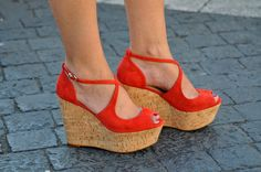 Amazing Red Wedges