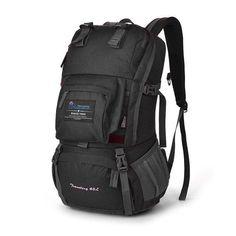 e12f9ed99537 40L Internal Frame Travel Climbing Bag Waterproof Polyester Material Unisex