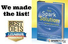 'Spark Solution' on the U.S. News 'Best Diets' List via @SparkPeople