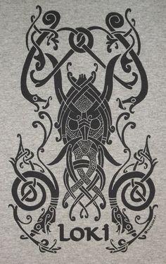 The best Loki mythology ideas Loki Tattoo, Norse Tattoo, Viking Tattoos, Wiccan Tattoos, Inca Tattoo, Viking Symbols, Viking Runes, Mayan Symbols, Egyptian Symbols