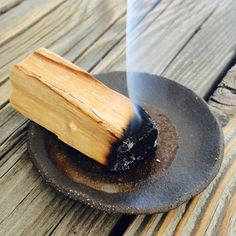 147. Palo Santo dish. Incense bundle and ceramic mini plate. Sushi plate. Ring dish. Incense burner. by DustCeramics on Etsy