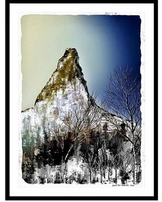 Hamaroyskaftet a mountain in the northern part of Norway. 613 meter above the sea. Online Gallery, Art Gallery, Colorful Artwork, Norway, My Arts, Mountain, Tapestry, Sea, Landscape