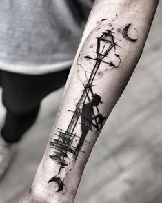 Tattoo by Inez Janiak 3d Tattoos For Men, Simple Tattoos For Guys, Badass Tattoos, Unique Tattoos, Beautiful Tattoos, Body Art Tattoos, Hand Tattoos, Sleeve Tattoos, Cool Tattoos