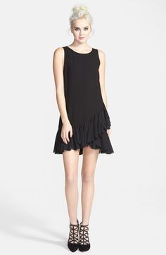 ruffle hem dress / tildon