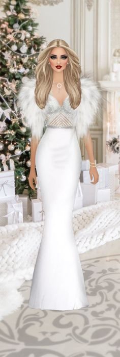 """A White Christmas"" Covet Fashion Games, Fashion Art, Celeb Style, White Christmas, Closets, Style Icons, Fashion Inspiration, Footwear, Celebs"
