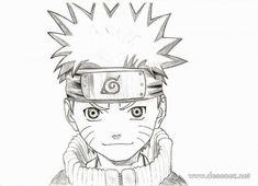 Desene in creion cu Naruto - deeascumpik
