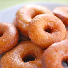 Sweet Potato Doughnuts.