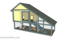 Want to keep rabbit for meats or pet? You need to build a rabbit hutch. Here's a collection of 50 free DIY rabbit hutch plans and ideas.