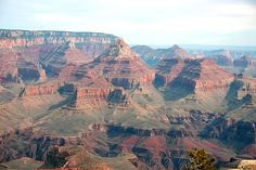 Redwall and Temple from Grandview Point. Grand Canyon National Park (South Rim). Grand Canyon Village, AZ (11/06)