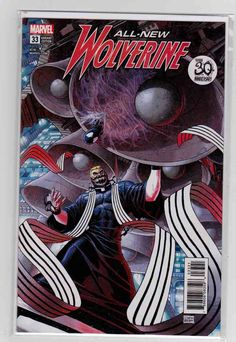 All-New Wolverine Variant Dustin Weaver Venom Anniversary Cover, Ramon Rosanas Pencils, Tom Taylor Script, Appearance of Old Woman Laura Rare Comic Books, Comic Books For Sale, All New Wolverine, Tom Taylor, American Comics, 30th Anniversary, Venom, Book Publishing, X Men