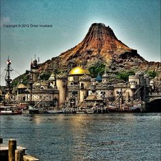 Disney Sea at Tokyo Japan. There are 2 in Tokyo -  Disneyland and DisneySea. Copyright © 2012 Ömer Incekara