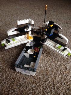 Lego Yacht interior