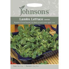 Johnsons Seeds Lambs Lettuce Favor