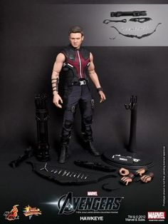 Hot Toys Avengers Figures: Hawkeye