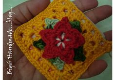 Bigú Handmade: Picot flower Purse...
