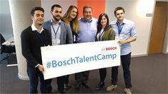 Bosch Talent Camp Kaşifleri ve Steven Young