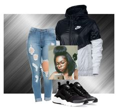 """Untitled #16"" by radiant112 ❤ liked on Polyvore featuring NIKE"