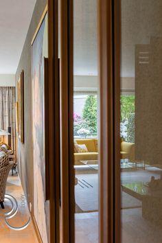 brons, stalen deur, taatsdeur, exclusief wonen, glas Windows, Window, Ramen