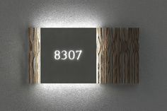 House number ideas - can help you to make a house number that will look great on the front of your house #HouseNumberIdeas