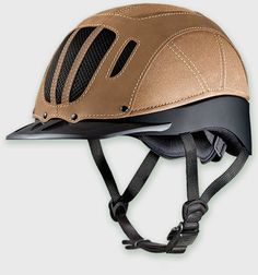Elevate your #helmet style this season with Troxel's newly redesigned Sierra low profile helmet. Available in tan, black and brown!