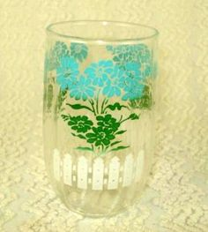 TimelessTotes Vintage Swanky Swig Little Juice Glass White $5 (plus $5 s)