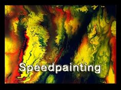 Abstrakte Malerei, Acrylmalerei, Weisheitsgeschichte, Abstract Acrylic Painting, Time Lapse