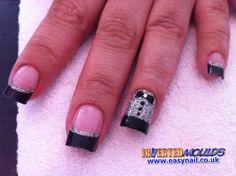 007 nails Acrylic Nails, Art Nails, Acrylics, New Years Nail Art, Crazy Nails, New Year's Nails, Winter Nails, Treat Yourself, Pretty Nails