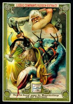 norse mythology trading cards on pinterest trading cards