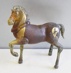C. 1940's Murano Scavo Glass Horse. - Price Estimate: $1500 - $2000