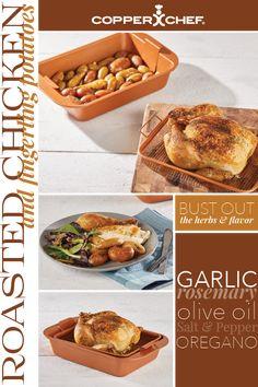 Copper Crisper Cooks Perfectly Crispy Vegetables