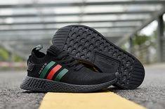 789adb467fca1 Adidas NMD 2017 R1 Unisex  black Gucci shoes Whatsapp 8613328373859