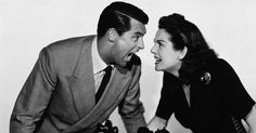 Cary Grant and Rosalind Russell in publicity picture